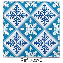 SET OF 6 COASTERS SQUARE GLASS 10 CM